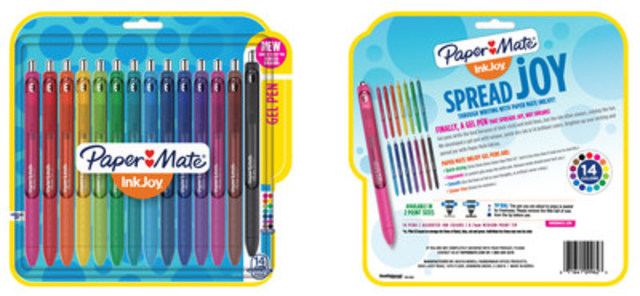 Paper Mate® InkJoy® Gel Pens™ (CNW Group/Newell Brands)