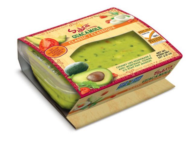 Le guacamole Sabra remporte le prix du meilleur nouveau produit 2015. Grand gagnant dans la catégorie « trempettes » des prix Choix du consommateur (Groupe CNW/Sabra Canada Inc.)