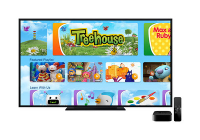 Treehouse App interface (Photo courtesy of Corus Entertainment) (CNW Group/Corus Entertainment Inc.)