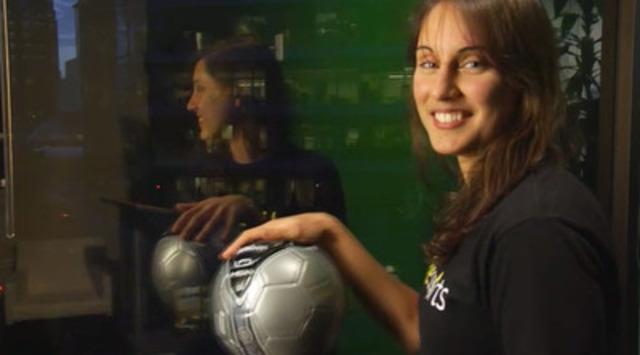Video: Sarah Thompson, Livesports: Projet de soccer communautaire