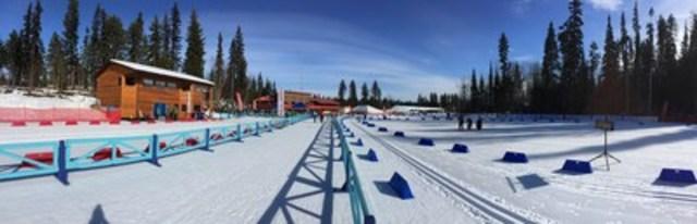 Le Caledonia Nordic Ski Club de Prince George, en C.-B. a été choisi comme hôte des championnats du monde de ski para-nordique 2019 qui auront lieu en février 2019. Photo: Kevin Pettersen (Groupe CNW/Comité paralympique canadien (CPC))