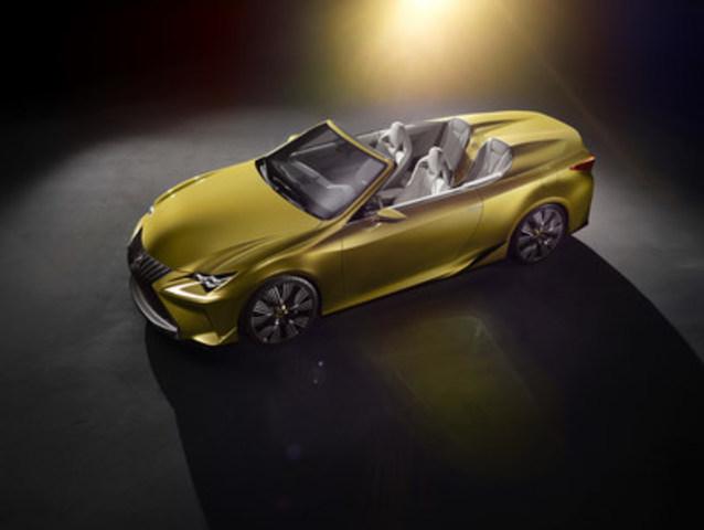 Le superbe concept LF-C2 et la toute nouvelle GS F sont en vedette au sein de la gamme de véhicules Lexus exposée au Salon international de l'auto de Toronto, du 12 au 21 février au Palais des congrès de Toronto. (Groupe CNW/Lexus)