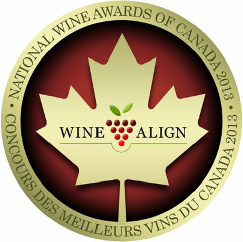 WineAlign National Wine Awards of Canada 2013 logo (CNW Group/WineAlign)