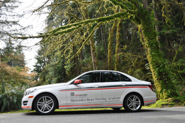 As part of its relentless effort to help make Canadian roads safer for everyone, Mercedes-Benz Canada today announced the official launch of the Mercedes-Benz Driving Academy for New Drivers. (CNW Group/Mercedes-Benz Canada Inc.)