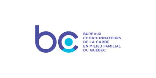 Logo (Groupe CNW/Bureaux coordonnateurs de la garde en milieu familial)