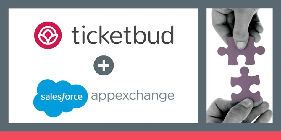 Ticketbud joins the Salesforce AppExchange. Event Organizers can now seamlessly connect their Ticketbud event data directly into Salesforce. Making event management even easier.