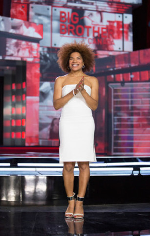 Big Brother Canada host Arisa Cox. Photo by Greg Henkenhaf. (CNW Group/SLICE)