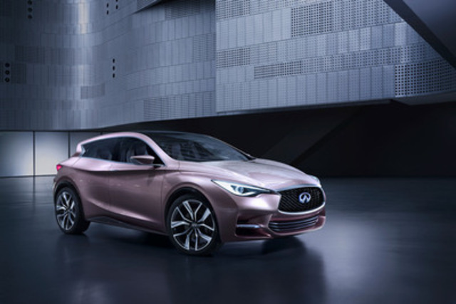 Today, Infiniti unveiled the next step in the brand's strategy to expand into new premium segments, with the Infiniti Q30 concept making its national debut at the Canadian International Auto Show (CIAS) in Toronto. (CNW Group/Infiniti)