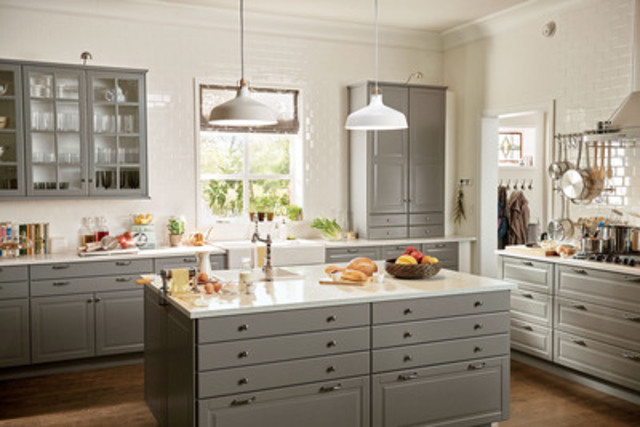 cnw ikea canada introduces new kitchen system. Black Bedroom Furniture Sets. Home Design Ideas