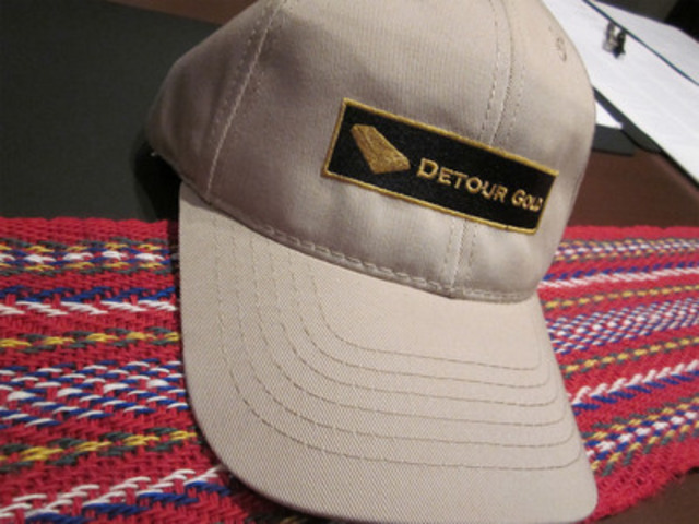 Historic agreement between the Métis Nation of Ontario and Detour Gold. (CNW Group/METIS NATION OF ONTARIO)