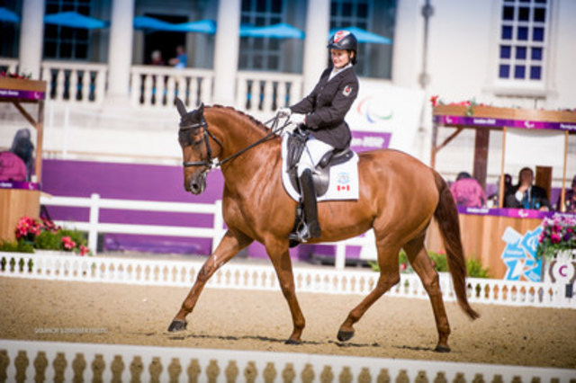 Since equestrian sport was introduced to the Paralympic Games program in 1996, Canada has earned a total of ...