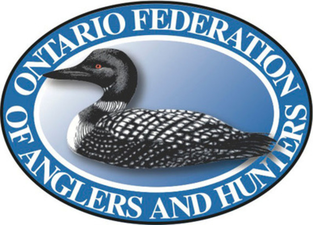Ontario Federation of Anglers and Hunters (CNW Group/Ontario Federation of Anglers & Hunters)