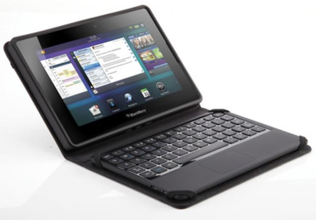 La Source a annoncé aujourd'hui la disponibilité exclusive en magasin du nouveau mini-clavier BlackBerry pour la tablette BlackBerry PlayBook (Groupe CNW/The Source)