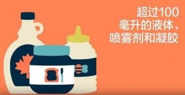 Video: Travelling with liquids, aerosols or gels? (Chinese version)