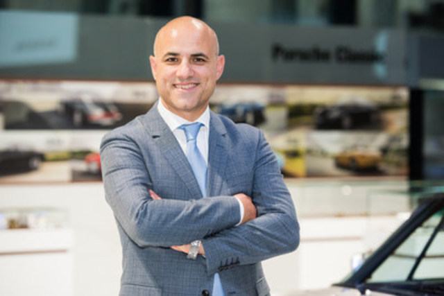 Roberto De Prisco joins Porsche Canada as After Sales Director, effective March 1, 2016. (CNW Group/Porsche Cars Canada)