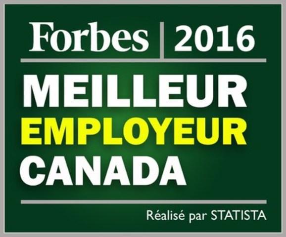 Forbes - Meilleur Employeur Canada 2016 (Groupe CNW/Bayshore HealthCare)