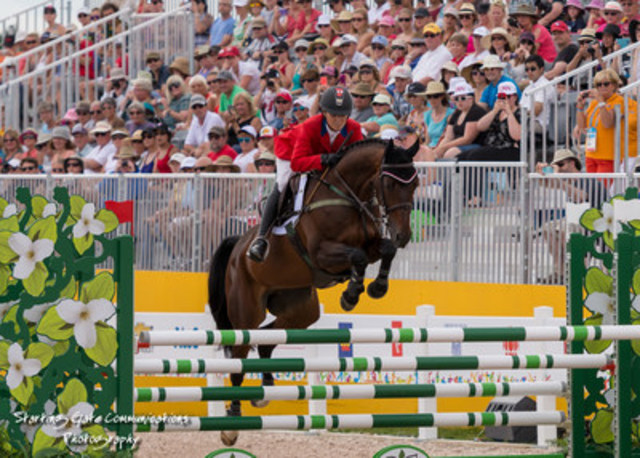 Canada''s Jessica Phoenix, individual silver and team bronze medalist at the TORONTO 2015 Pan American Games, will contest the Horseware® Indoor Eventing Challenge at this year''s Royal Horse Show. (CNW Group/Royal Agricultural Winter Fair)