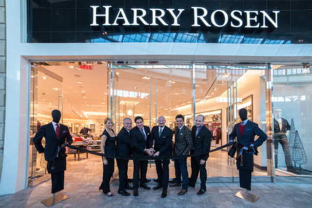 Premiere menswear retailer, Harry Rosen, celebrates its 30th Anniversary in Montreal today with the opening of ...