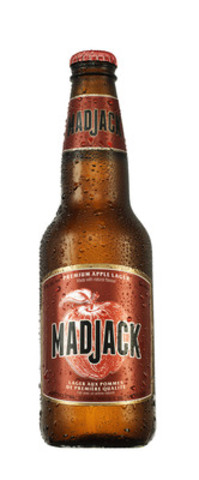 Mad Jack 341mL bottles will begin rolling out across Canada in April 2015. (CNW Group/Molson Coors Canada)