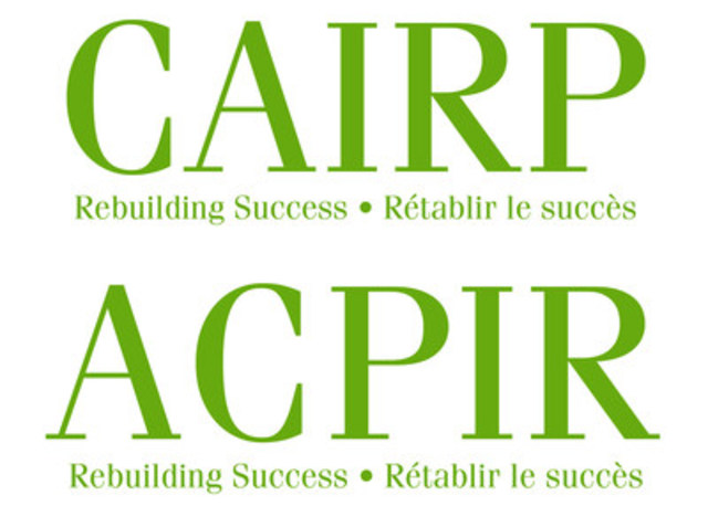 The Canadian Association of Insolvency and Restructuring Professionals / L'Association canadienne des professionnels de l'insolvabilité et de la réorganisation (ACPIR) (CNW Group/Canadian Association of Insolvency and Restructuring Professionals (CAIRP)) (Groupe CNW/Association canadienne des professionnels de l'insolvabilité et de la réorganisation (ACPIR))