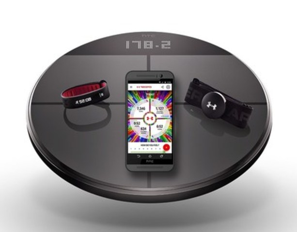 Today, Under Armour expanded the launch of its suite of Connected Products to Canada, including UA HealthBox designed with HTC. Starting today, the entire line of products (UA HealthBox, UA Band and UA Headphones Wireless) are available for pre-order on UA.com. (CNW Group/Under Armour, Inc.)