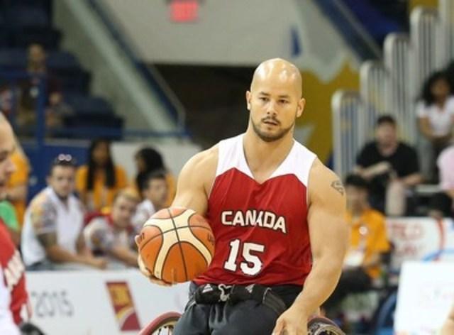 Les participants auront la chance de rencontrer le paralympien local David Eng, membre de l'équipe nationale canadienne de basketball en fauteuil roulant. (Groupe CNW/Comité paralympique canadien (CPC))