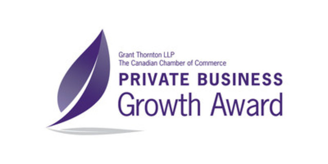 Private Business Growth Award – Recognizing Canadian Private Business Success Stories. Call for nominations! www.PrivateBusinessGrowthAward.com (CNW Group/Grant Thornton LLP)
