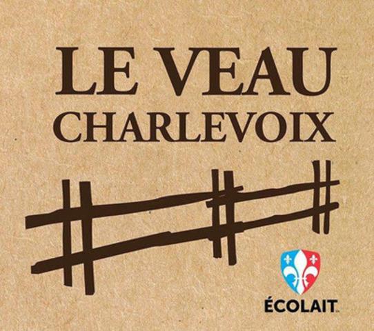 Le Veau Charlevoix (Groupe CNW/Écolait Ltée)