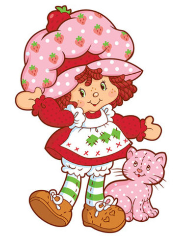 DHX Media and Iconix Brand Group announce a long-term agreement to co-develop and co-produce a new animated series based on the iconic entertainment toy brand, Strawberry Shortcake. For more than 35 years, Strawberry Shortcake has been a beloved girls' brand. The original Strawberry Shortcake is shown here. (CNW Group/DHX Media Ltd.)