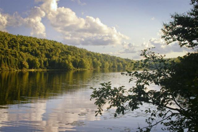 Réserve naturelle du Lac-du-Brochet, Montcalm ©TerraVie (Groupe CNW/Fondation Hydro-Québec pour l'environnement)