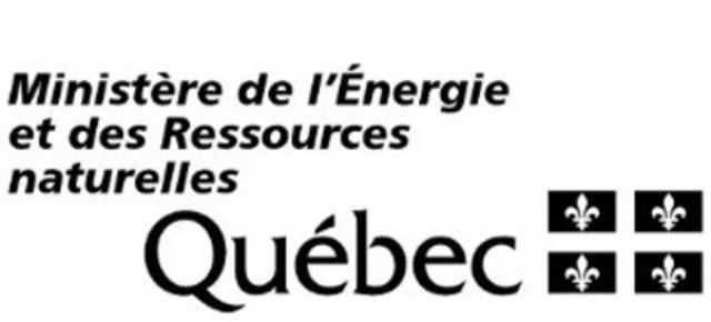 Logo : Ministère de l'Énergie et des Ressources naturelles (Groupe CNW/Ville de Montréal - Cabinet du maire et du comité exécutif)