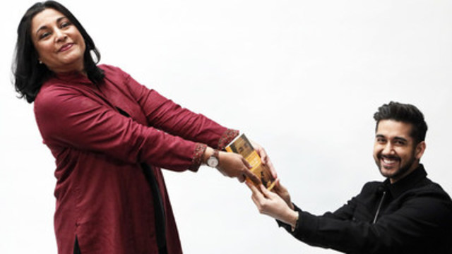 Creative Produce Vinay Virmani and Anita Rau Badami, Author. (CNW Group/Firsttake Entertainment)