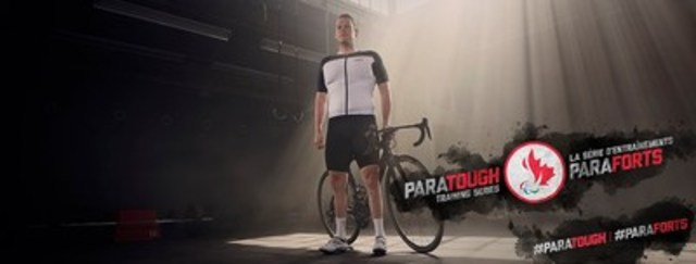 Le para-cycliste Ross Wilson fait parti de la Série d'entraînements ParaForts, la toute première série d'entraînements présentée entièrement par des paralympiens. Crédit : CPC/Tyler Gray/John Stevancec/Westside Studio (Groupe CNW/Comité paralympique canadien (CPC))