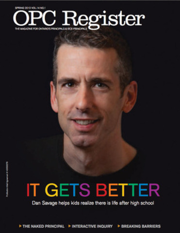 It Gets Better (CNW Group/Ontario Principals' Council)