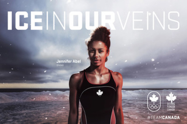 Jennifer Abel, plongeon (Montréal, Qc) (Groupe CNW/Canadian Olympic Committee)