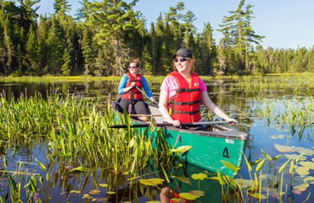 Parc national de Frontenac (CNW Group/Société des établissements de plein air du Québec)