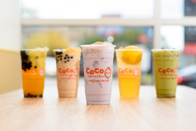 """""""CoCo Fresh Tea and Juice.  Largest Bubble Tea Chain Coming to Downtown Toronto"""" (CNW Group/CoCo Fresh Tea & Juice)"""