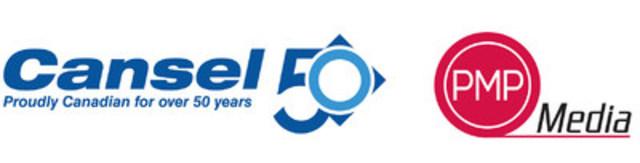 Cansel élargit sa gamme de produits ainsi que sa présence au sein du marché graphique du Québec grâce à l'acquisition de PMP Media. (Groupe CNW/Cansel)
