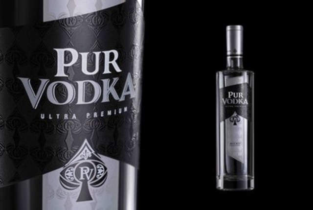 PUR Vodka, Canada's most awarded vodka, launches in LCBO (CNW Group/PUR Vodka)