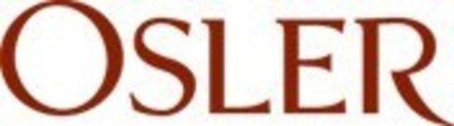 Osler, Hoskin & Harcourt LLP (CNW Group/Osler, Hoskin & Harcourt LLP)