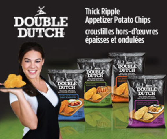 Thick Ripple Appetizer Potato Chips (CNW Group/Old Dutch Foods Ltd.)