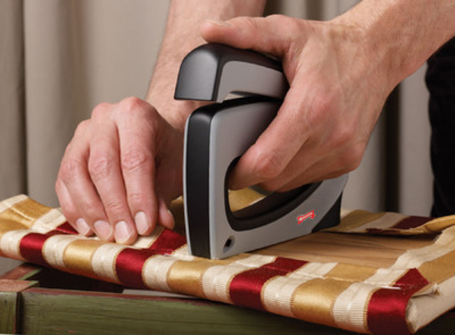 Arrow Fastener Company's Innovative FA50elite Stapler, Exclusively at Canadian Tire Stores, Makes Home Projects Easier and Faster For Do-It-Yourselfers. (CNW Group/Arrow Fastener Company)