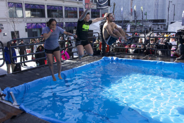 The pool at the urban Toronto Sears Great Canadian Chill (CNW Group/Sears Canada Inc.)