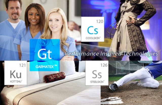 Garmatex performance inspired technologies (CNW Group/Garmatex Technologies, Inc)