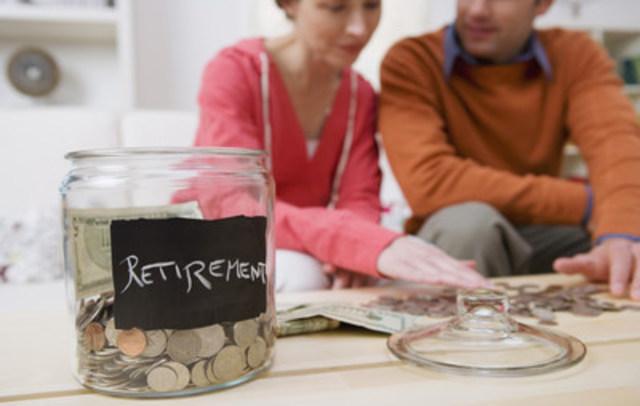 Retirement savings jar (CNW Group/Money Mentors)