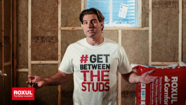 ROXUL and Income Property Host Scott McGillivary launch the #GetBetweenTheStuds spring contest.