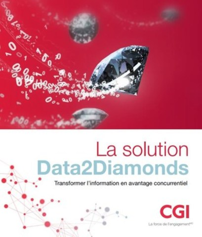 Le livre de la solution Data2Diamonds de CGI (Groupe CNW/Groupe CGI inc.)