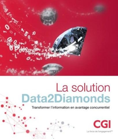 Le livre de la solution Data2Diamonds de CGI (Groupe CNW/Groupe CGI inc.)