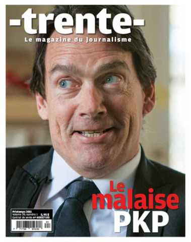 Photo couverture du Trente (Groupe CNW/FEDERATION PROFESSIONNELLE DES JOURNALISTES DU QUEBEC)