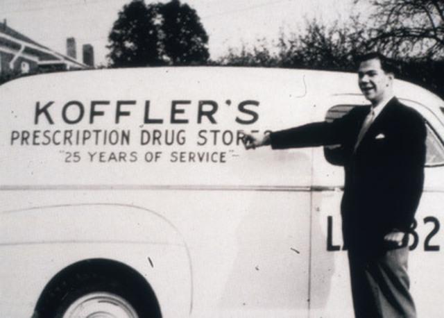 Fondée en 1962 par Murray Koffler, un pharmacien de Toronto, Shoppers Drug Mart célèbre aujourd'hui son 50e anniversaire. La société exploite plus de 1 300 pharmacies dans tout le Canada. (Groupe CNW/Corporation Shoppers Drug Mart)